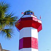 Hilton Head Lighthouse Upclose Poster