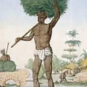 Hindu Servant Cutting Grass, The Poster