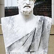 Hippocrates Statue - Vcu Campus Poster