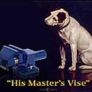 His Master's Vise Poster