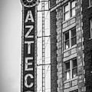 Historic Aztec Theater Poster