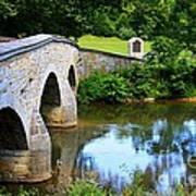 Historic Burnside Bridge Poster
