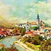 Historic Centre Of Cesky Krumlov Poster