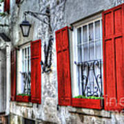 Historic Charleston Pirates House Poster