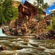 Historic Colorado Landscape Poster