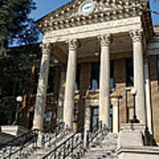Historic Limestone County Courthouse In Athens Alabama Poster