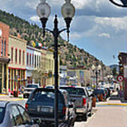 Historic Manitou Springs Poster