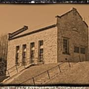 Historic Power Sepia Poster