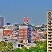 Historic Western Auto Building Kansas City  Missouri Poster