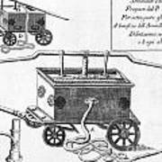 Historical Fire Engine 1728 Poster