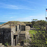 Historical Fort Wool Virginia Landmark Poster