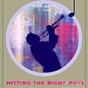 Hitting The Right Note Poster