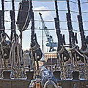 Hms Victory Cannon Poster