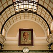 Ho Chi Minh Portrait Poster