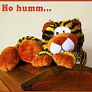 Ho Hummm Tiger Poster
