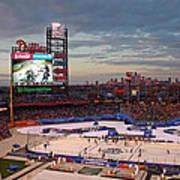 Hockey At The Ballpark Poster