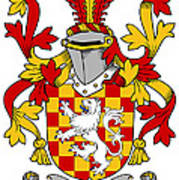 Hoey Coat Of Arms Irish Poster