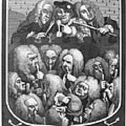 Hogarth: Physicians, 1736 Poster