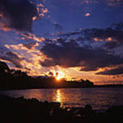 Holga Sunset Poster