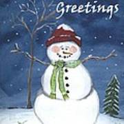 Holiday Greetings Poster