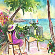 Holidays In Saint Martin Poster