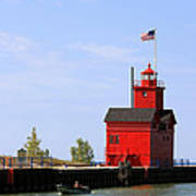 Holland Harbor Lighthouse Poster