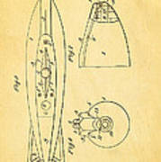 Holland Submarine Patent  Art 2 1902 Poster