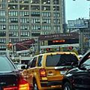 Holland Tunnel Traffic Poster