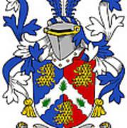 Holligan Coat Of Arms Irish Poster