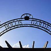 Hollis Gardens Entrance Poster