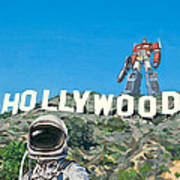 Hollywood Prime Poster by Scott Listfield