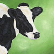 Holstein Cow Poster