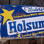 Holsum Bread Sign Poster