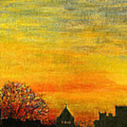 Holy City Sunset Poster
