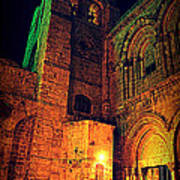 Holy-sepulchre Poster by Amr Miqdadi