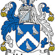 Holywood Coat Of Arms Irish Poster