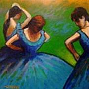 Homage To Degas II Poster
