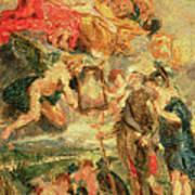 Homage To Rubens Poster