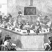 Home Economics Class, 1886 Poster