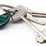 Home Keys Poster