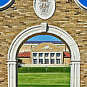 Homecoming Bonfire Arch Poster