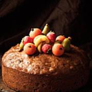 Homemade Rich Fruit Cake Poster