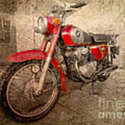 Honda Cb175 Poster