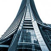 Hong Kong Icc Skyscraper Poster