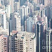 Hong Kong Suburbs Poster
