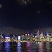 Hong Kong Symphony Of Lights Show Poster