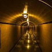 Hoover Dam Art Deco Tunnel Poster