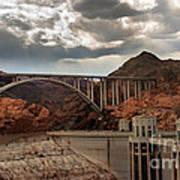 Hoover Dam Bridge Poster