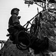 Hoover Dam Climber Poster