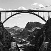 Hoover Dam Memorial Bridge Poster